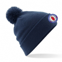 Taughmonagh Young Men FC Bobble Hat - Navy
